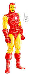 The Iron Man by Archonyto