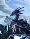 Mountain Dragon by Aerin-Kayne