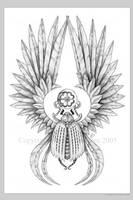 Winged Scarab by Aerin-Kayne