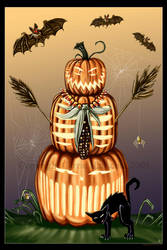 It Came from the Pumpkin Patch by Aerin-Kayne