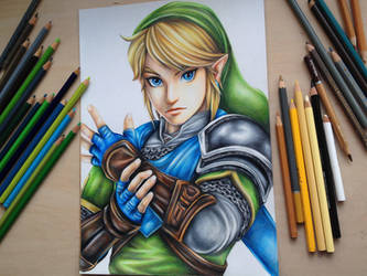 Link from the Legend of Zelda- Hyrule Warriors by Polaara