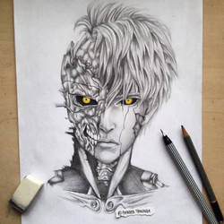 Genos One Punch Man by Polaara