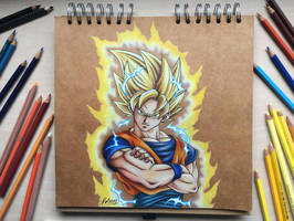 Goku Super Saiyan by Polaara