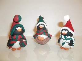 Three Penguins by Sya