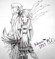 Halloween 2013 _^(*w*)^_ by RaikonKitsune
