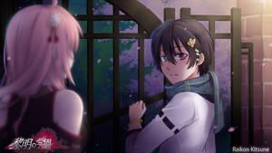 Reimei no Gakuen: Late-night meeting by RaikonKitsune