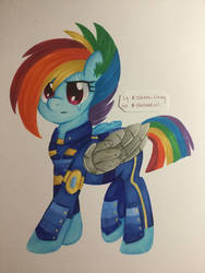 crystal war rainbow dash (without background) by chelseaz123