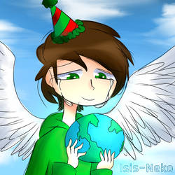 Happy Birthday Edd Gould-EddsWorld by Isis-neko123