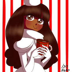 Cookie Run/Cocoa cookie by Isis-neko123