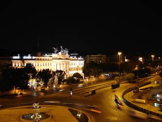 Atocha Region at Night by RikMcCloud