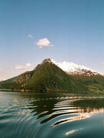 Mountains and fjords by woodfaery