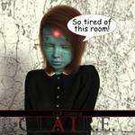 C.L.A.I.R.E - This room.... by CLRComics