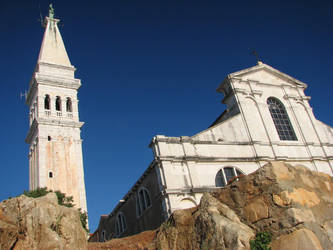 Church in Rovinj by Vilq