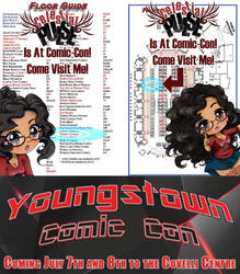 Youngstown Comic Con, HERE WE COME! by Vesenia