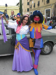 Clopin and Esmeralda 1 by giulal