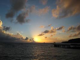 Palauan sunset by Pixturesque