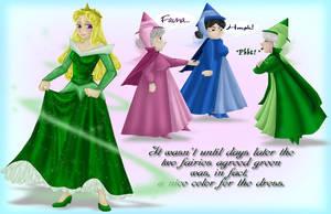 My Dress is Green by BonzaiRen