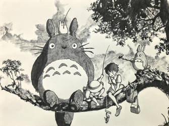 My Neighbor Totoro by AndromedaStudio