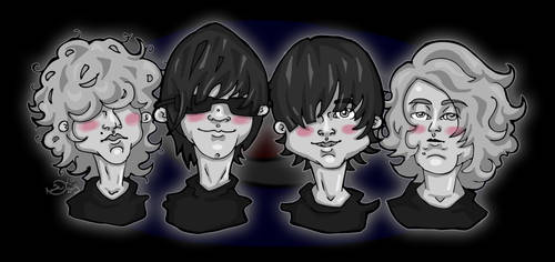 The Strypes by zimmii
