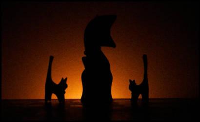 Kitty Family by V4mpir-C4t