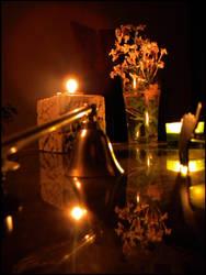 Flower Vase by V4mpir-C4t