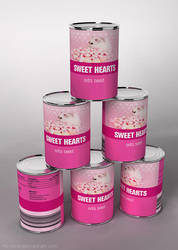 Sweet Hearts for Valentine by hoschie