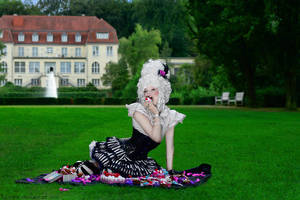 Marie Antoinette by hoschie