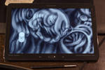 My first tablet by hoschie