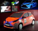 3D Projectionmapping for Toyota Aygo on IAA 2015 by hoschie