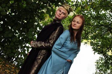 Sansa and Joffrey - GoT by chestoberry