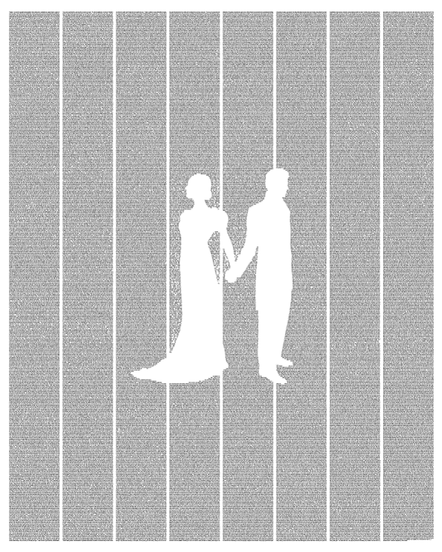 Pride and Prejudice by postertext