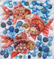 Three little fishes by ShahrazadStrange
