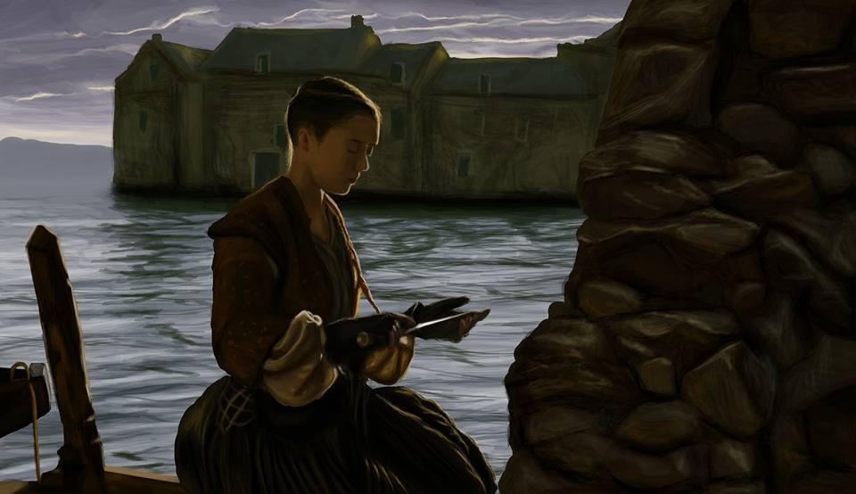 Game of thrones - Arya - season 6 episode 6 by Armaan8014