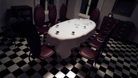 Alice's dollhouse: dining room by ark4n