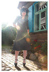 That grey dress 1 by temabina