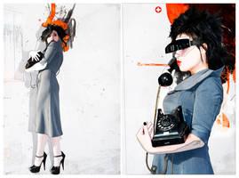 That grey dress 3 by temabina