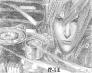 FFvXIII Sketch by friedChicken365