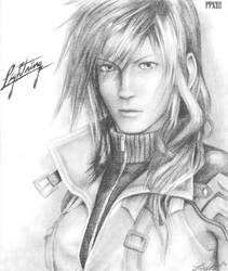Lightning - FFXIII by friedChicken365