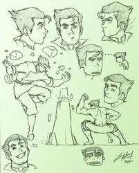 Bolin Sketches by friedChicken365