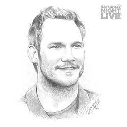 SNL40: Chris Pratt by friedChicken365