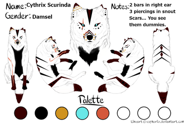 Cythrix's Updated Ref by RebelliousDamsel