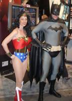 Batman And Wonder Woman by mjac1971