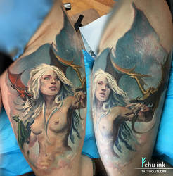 khaleesi tribute by ellegottzi