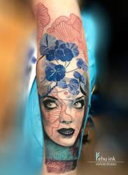 conceptual tattoo by ellegottzi