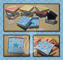Origami Boxes by MyntKat