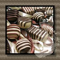 Chocolate Necklaces by MyntKat