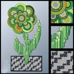 Cyber Flower by MyntKat