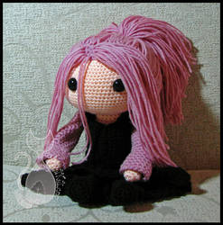 Pink Hair Doll by MyntKat
