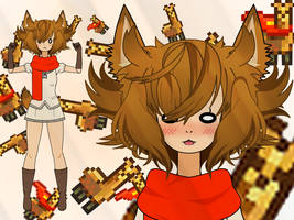 [Kisekae] Llama Powa. by Shunozu