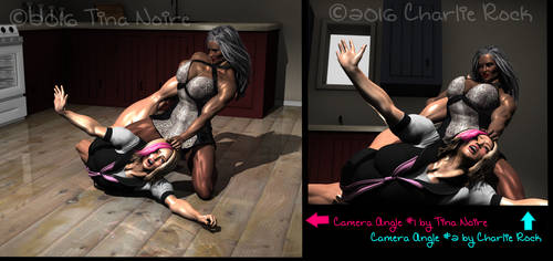 Housewife vs College Student by TNoire